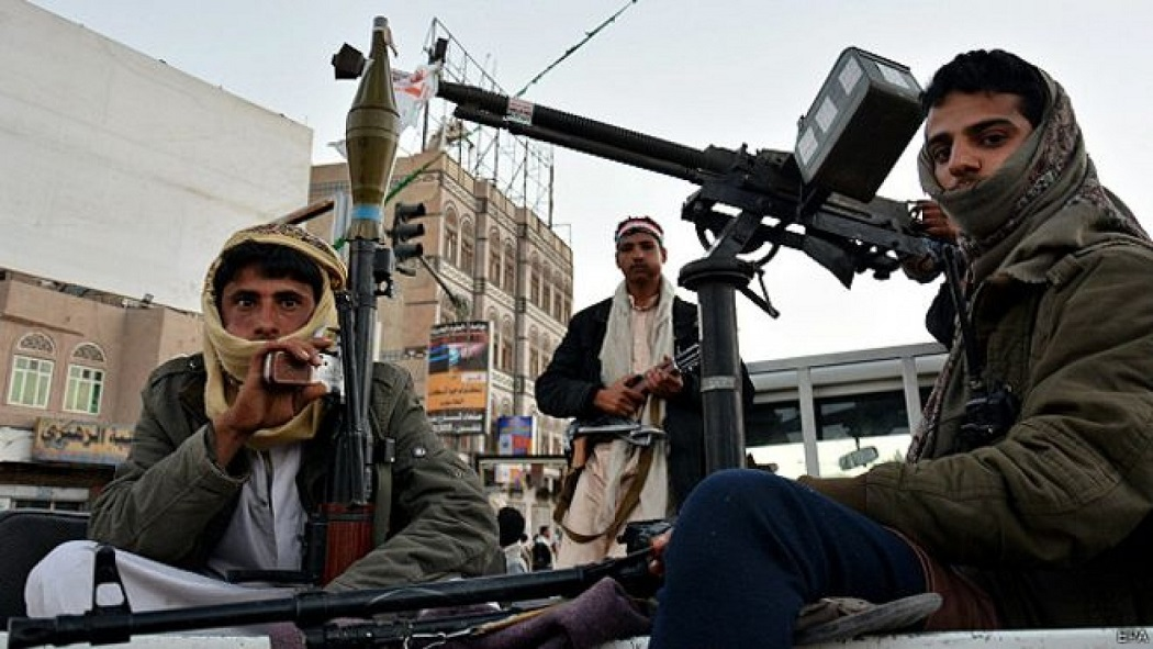 The Houthis control much of northern Yemen