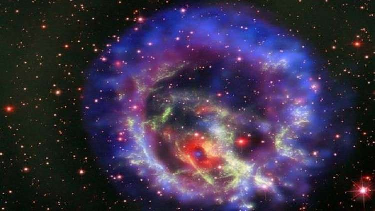 NASA discovers rare neutron star outside of Milky Way and releases a stunning image of it