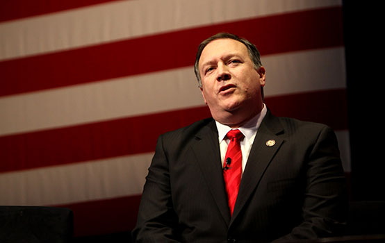 Mike Pompeo, CIA director