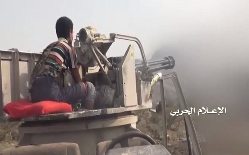 Houthi Rebels In Yemen Have Technical Trucks Armed With Vulcan Cannons
