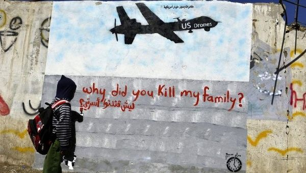 us drones why did you kill my family