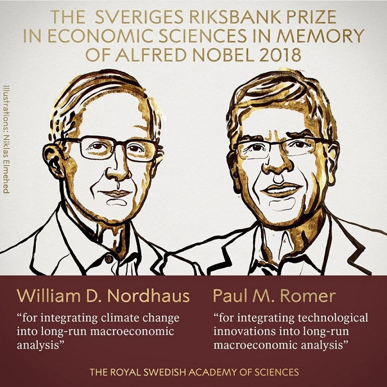 William Nordhaus and Paul Romer