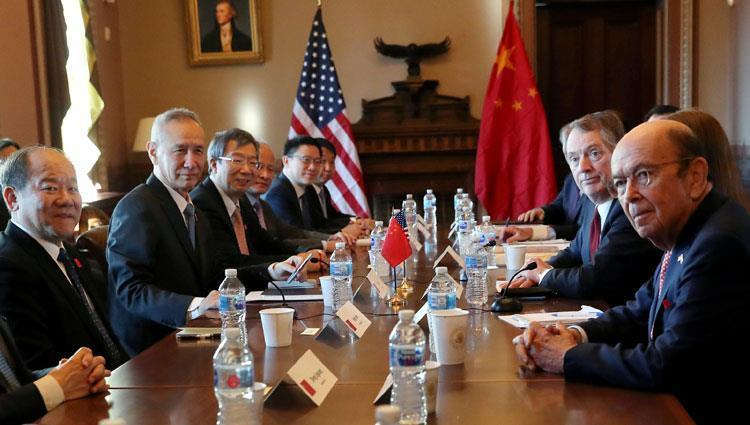 US-China trade talks - archive