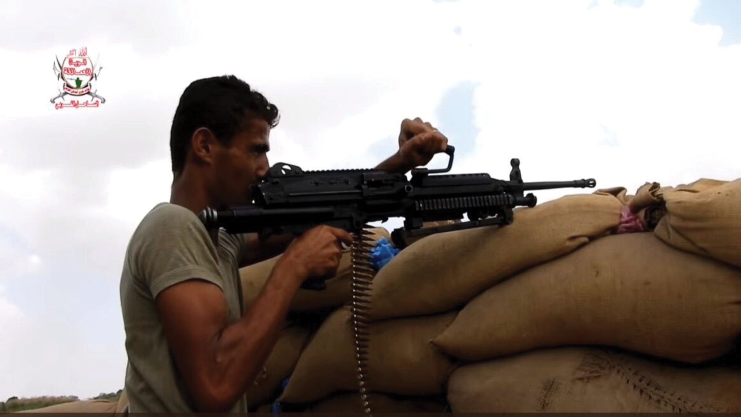 Light machine gun Bulgian-made Minimi UAE supplied the Giants with, according to Amnesty International