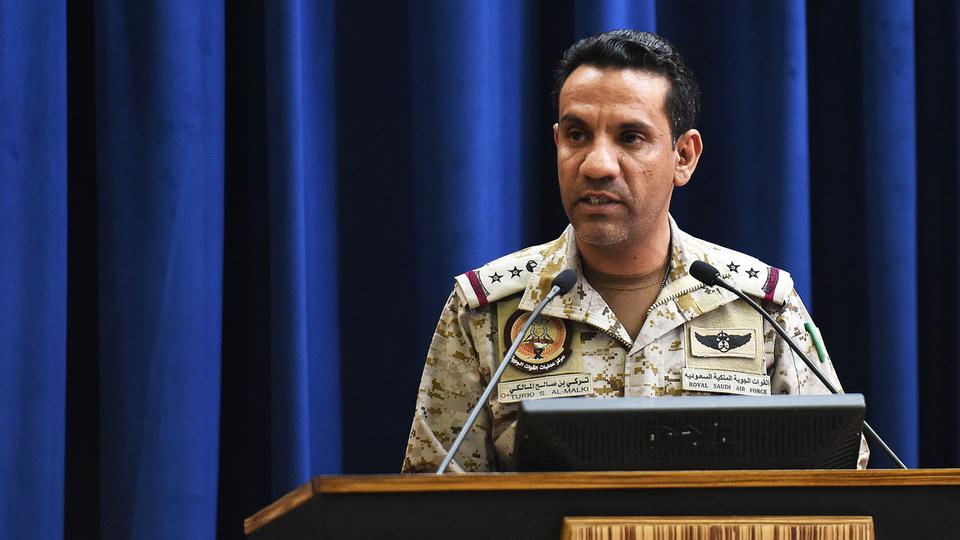 Colonel Turki al-Maliki coalition spokesman