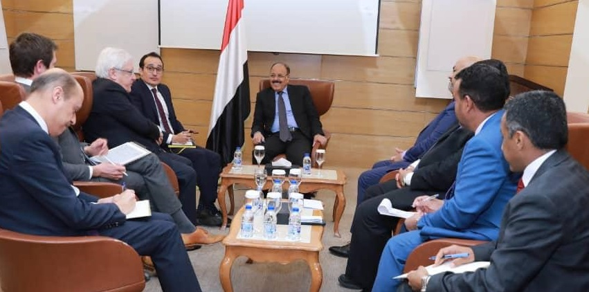 Griffiths meeting with Yemeni vice-president in Riyadh, Tuesday