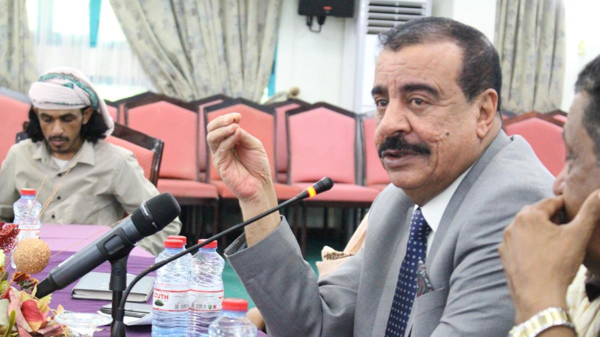 President of the National Assembly of the Southern Transitional Council Major General Ahmed Said Bin Boraik (archive(