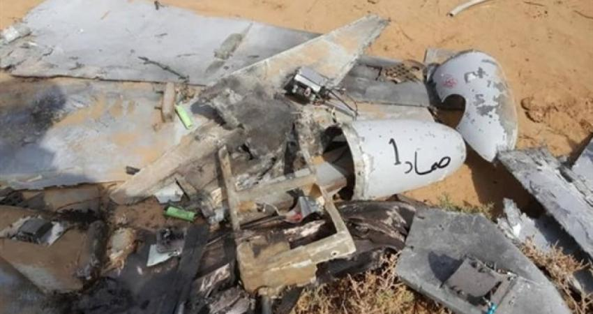 Drone ruins of the Houthis