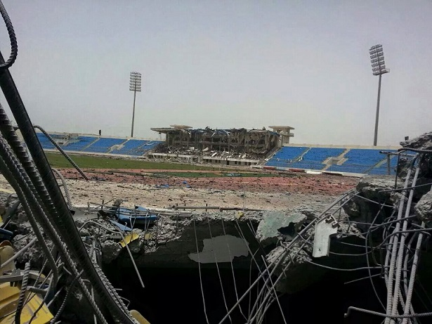 The Aden-based 22 May Stadium