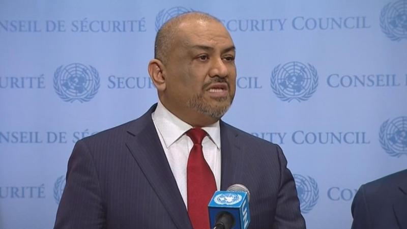Minister of Foreign Affairs of Yemen Khaled al-Yamani