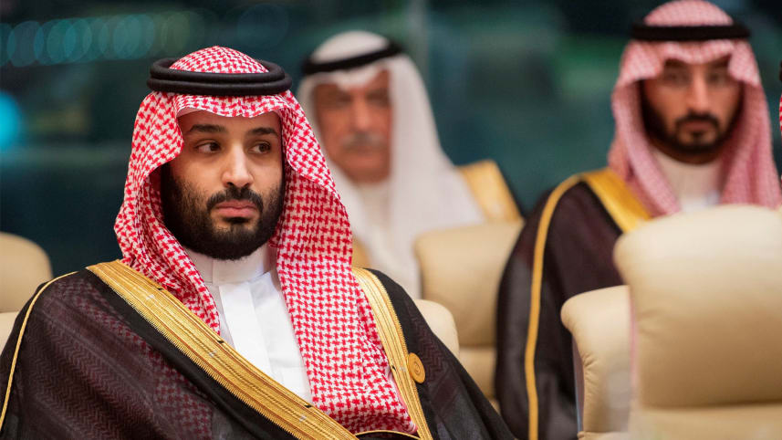 Saudi Crown Prince Mohammed bin Salman at a Gulf Cooperation Council meeting in Mecca, May 30, 2019Saudi Royal Court via Reuters