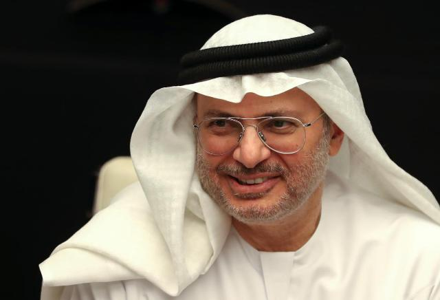 United Arab Emirates State Minister for Foreign Affairs Anwar Gargash