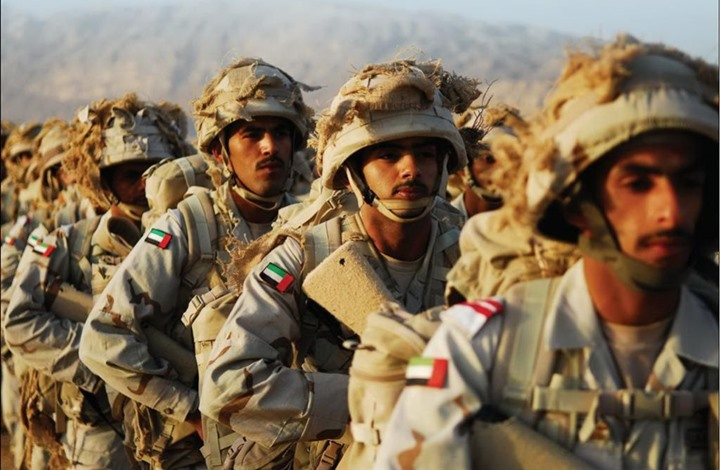 Emirati troops in Yemen, file