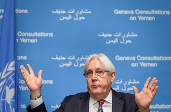 UN special envoy for Yemen, Martin Griffiths- Archive