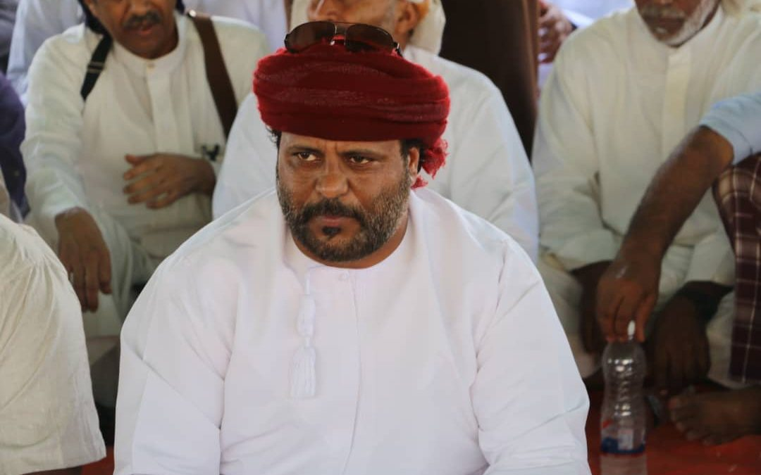 Chief sheikh of the island of Socotra, Issa Salem bin Yaqut