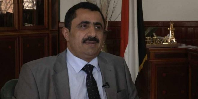 Houthi oil minister, Ahmed Daris