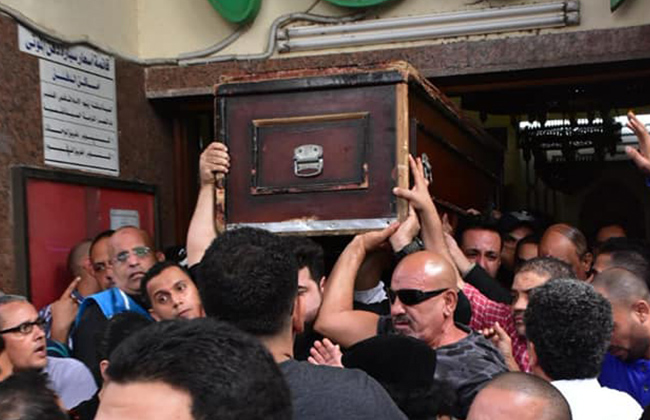Haitham Zaki's funeral witnessed a remarkable popular presence