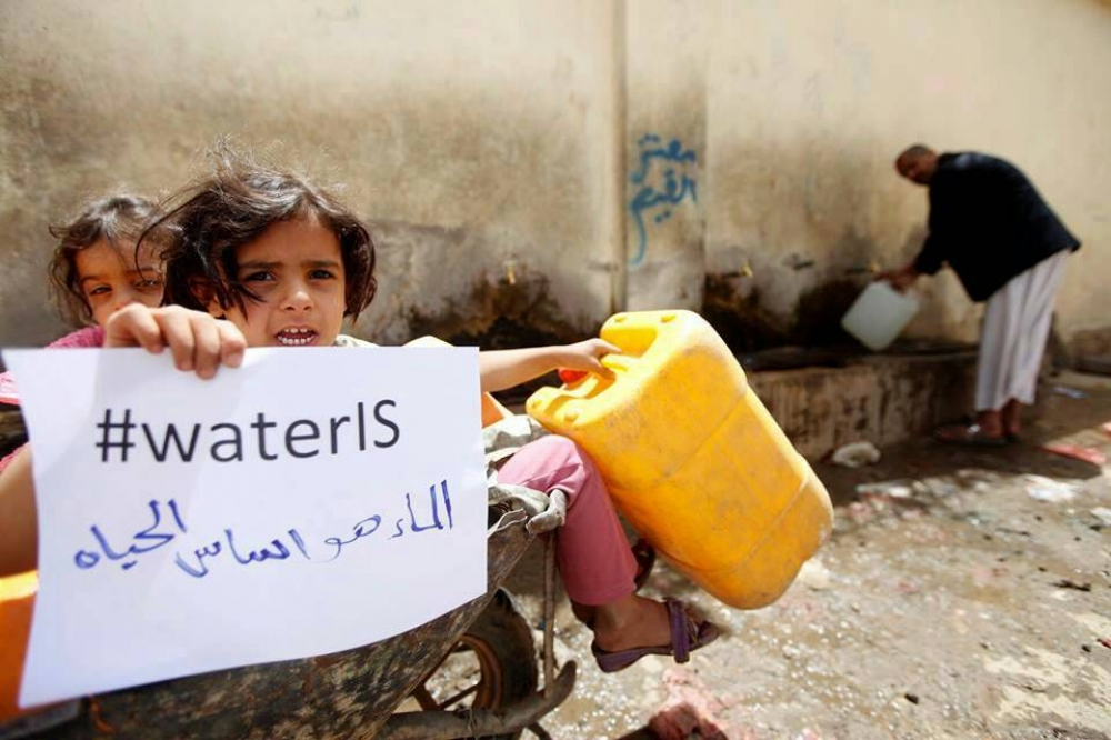 Clean water in Yemen: the suffering of child victims firstClean water in Yemen: the suffering of child victims first