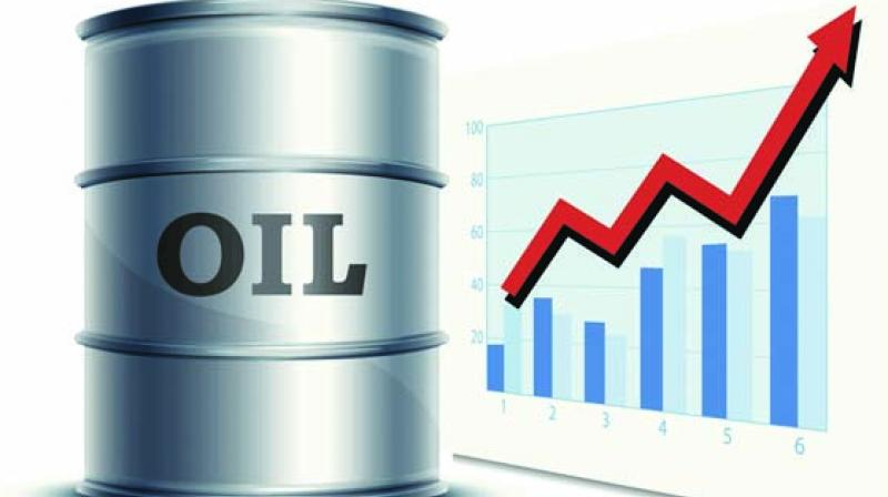 Oil prices rise over US crude stocks fall
