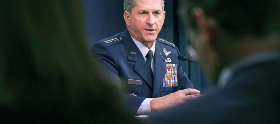 United States Air Force Chief of Staff David Goldfein