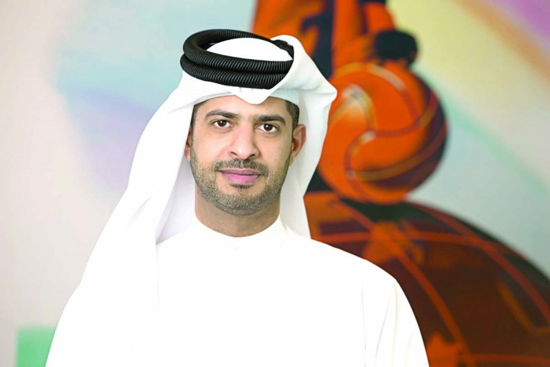 Nasser Al Khater, the SC's Chief of Experience & Tournament Readiness