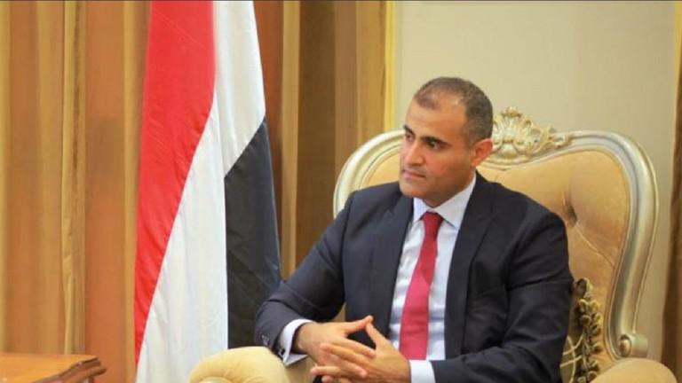 The foreign minister of Yemen's internationally recognized government, Mohammed Al-Hadhrami