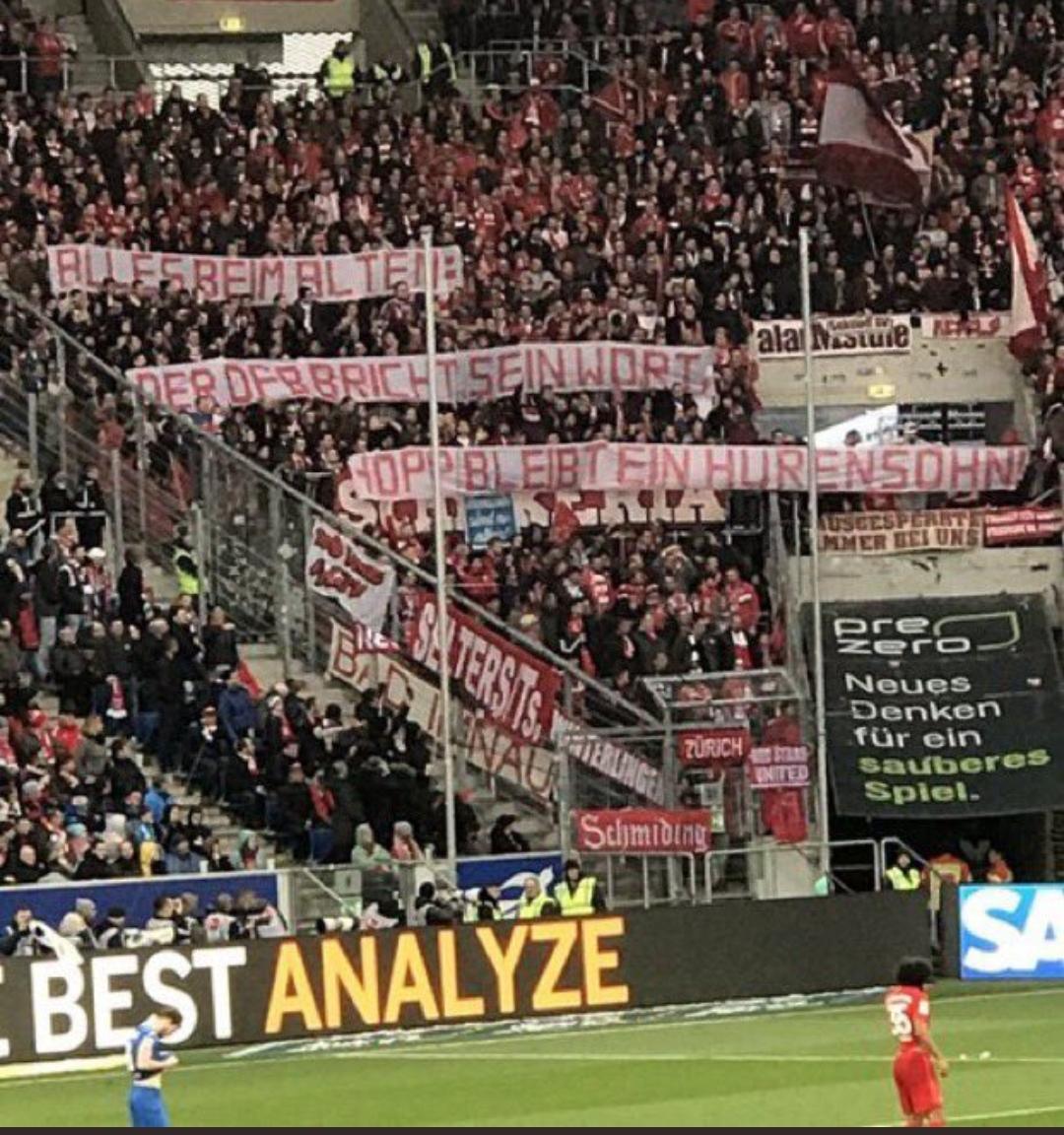Racism In Bayern Munich And Hoffenheim Match In German League