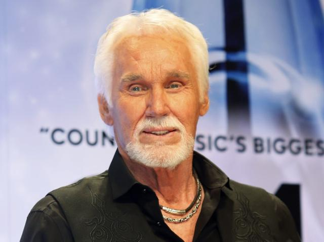 The American singer, Grammy-winning country singer Kenny Rogers