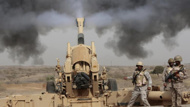 Saudi troops in Yemen, archive