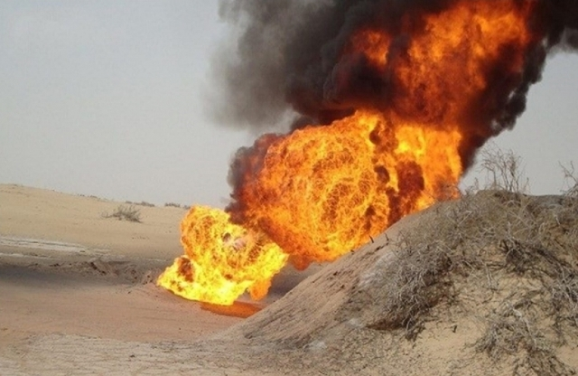 Oil pipelines in Shabwa frequently attacked by unknown gunmen