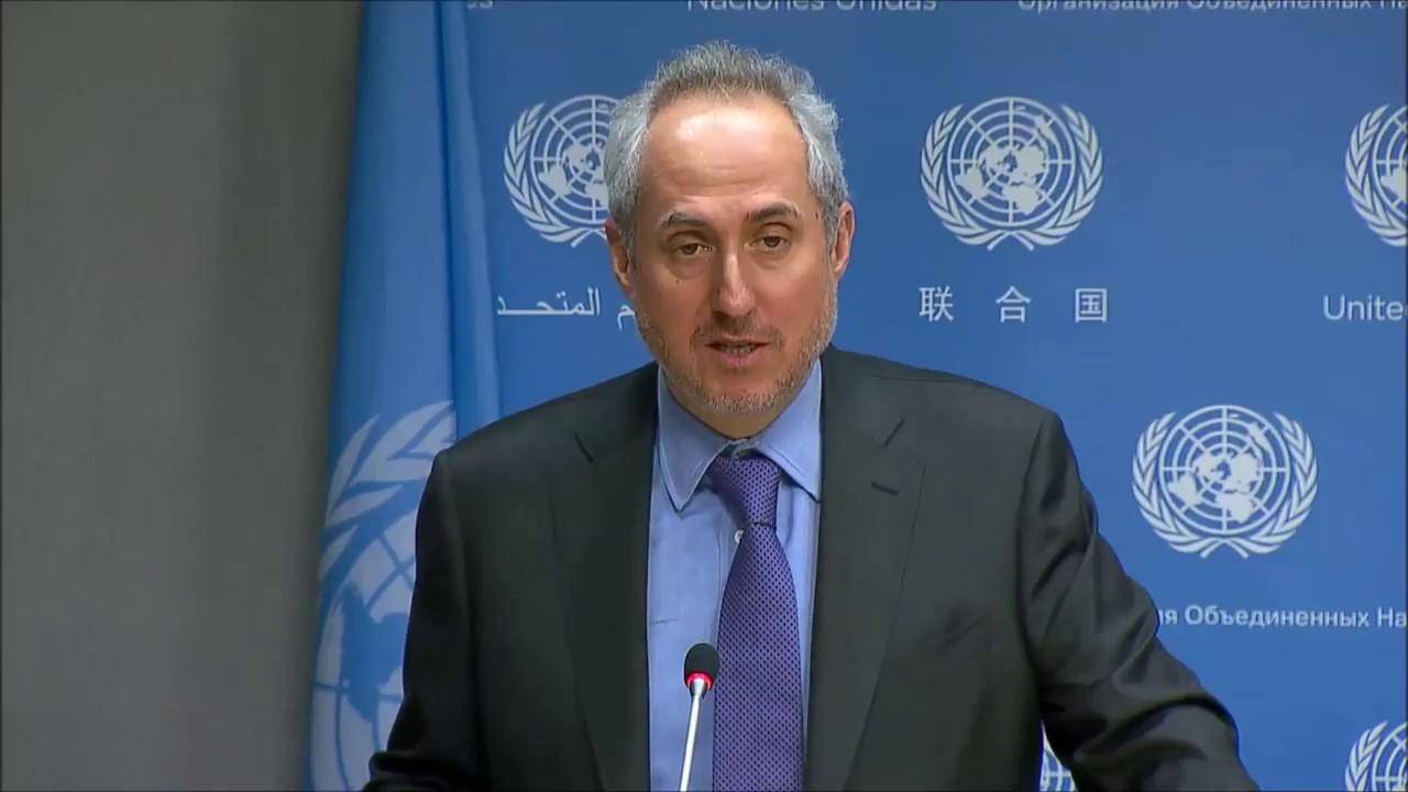 ستيفان دوجاريك، المتحدث باسم الأمين العام للأمم المتحدة