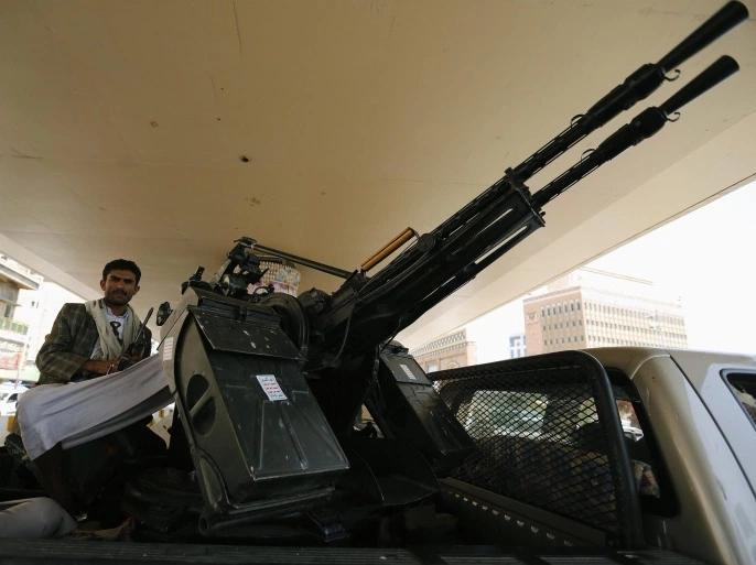 بحسب التقرير، فإن جماعة الحوثي استخدمت اسلحة امريكية متطورة في هجومها على مأرب