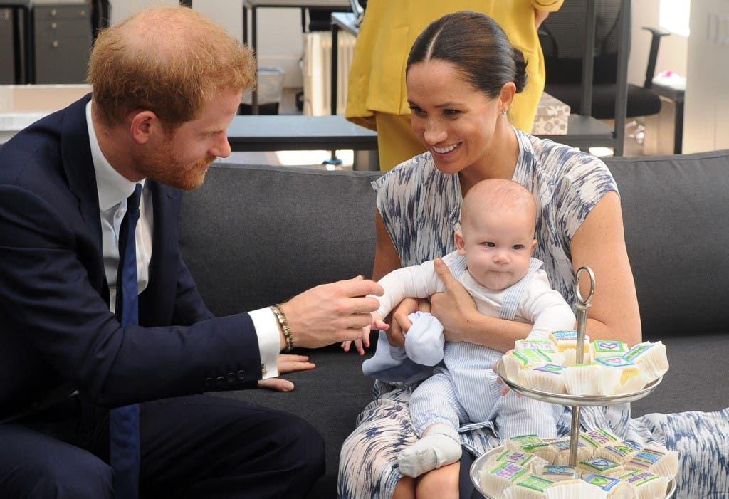 هاري وميجان وطفلهما الأول