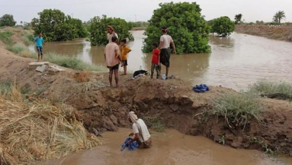 يشهد اليمن أمطار غزيرة منذ أكثر من أسبوع