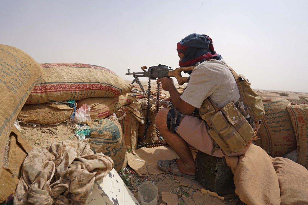 قوات تابعة للحكومة اليمنية المعترف بها دوليا