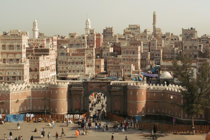 المدينة القديمة في صنعاء - أرشيف