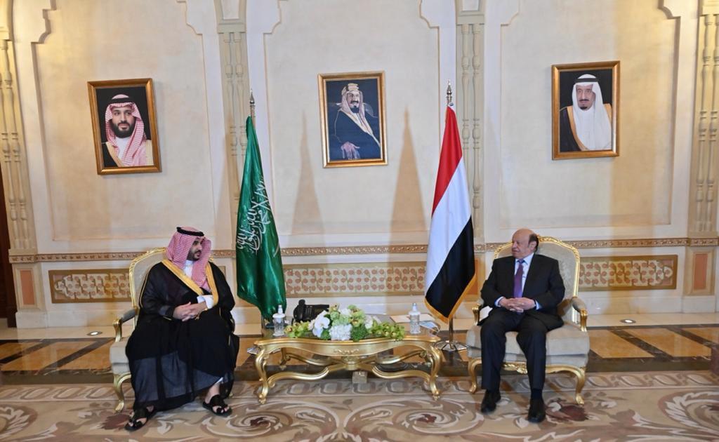 ناقش اللقاء الجهود المبذولة للتوصل الى حل سياسي شامل ينهي الأزمة في اليمن
