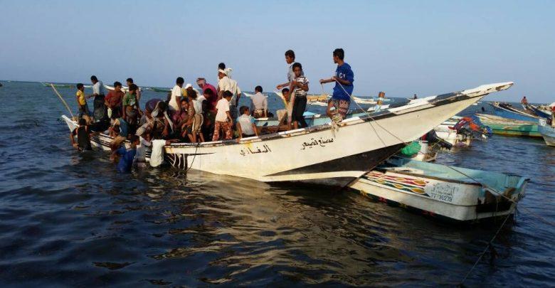 صيادون يمنيون - أرشيف