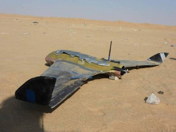 اسقاط طائرة مسيرة للحوثيين - أرشيف
