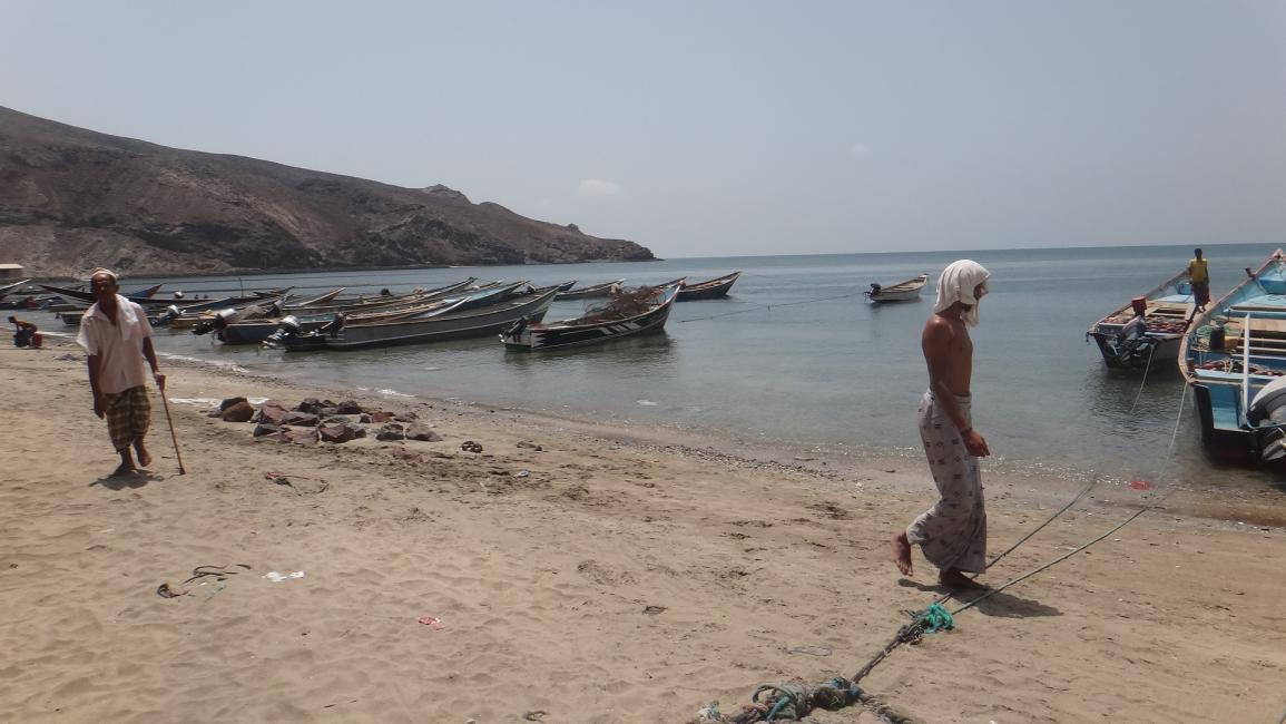 مرسى لقوارب الصيد في اليمن - أرشيف