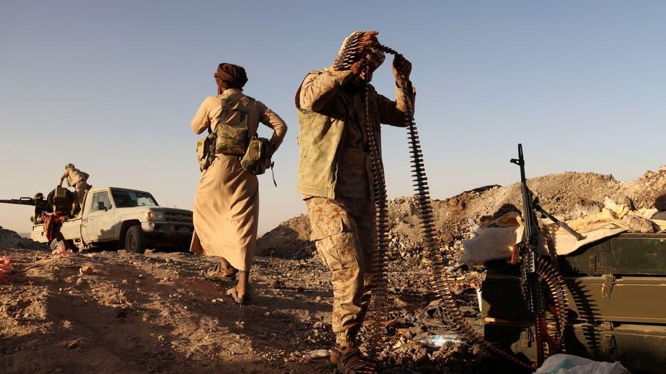 ملسحون حوثيون في مأرب