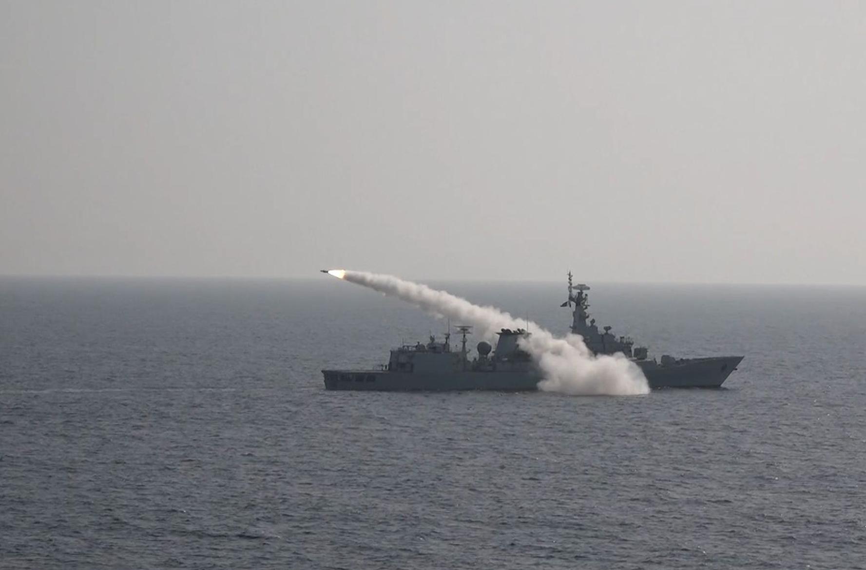 صورة نشرتها السعودية للتمرين البحري